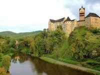Burg Loket Tschechei