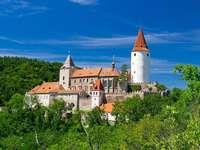 Zamek Krivoklat Republika Czeska