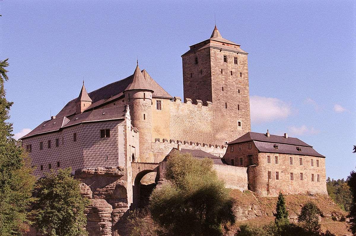 Castillo de Kost en República Checa