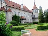 Burganlage in der Tschechei