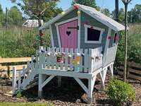 wooden house for a girl