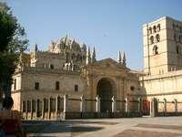 Катедралата на Замора-Испания.