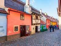 Прага Golden Lane Чехия