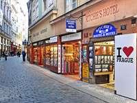 Prague downtown Czech Republic