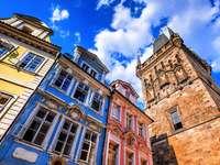 Прага в центъра на Чехия