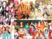 Barevné panenky