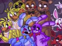 meisjesversies van animatronics