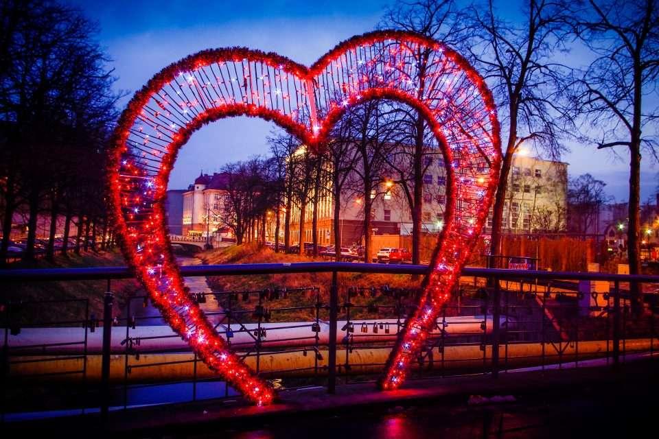 осветяващо сърце в града пъзел
