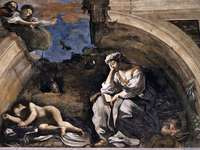 Guercino w nocy