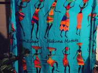 Chusta z Zanzibaru