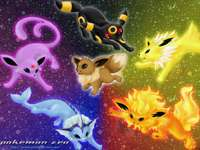 Vários Pokémon