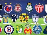 Drużyny Liga MX
