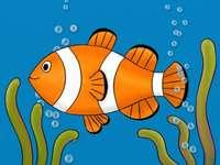 Quebra-cabeça de peixe