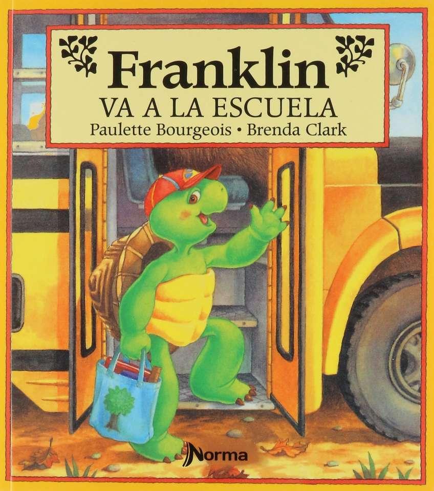 verhaal Franklin gaat naar school - het stimuleren van visuele waarneming (4×5)
