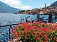Limone del Garda Brescia Lombardia Olaszország