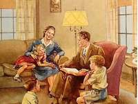 rodinná idylka jedné rodinky