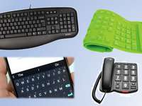 Different keyboards