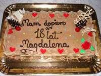 Csokoládé-meggy torta