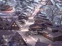 Invierno en Japón.