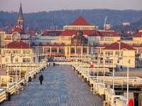 Vista de Sopot.
