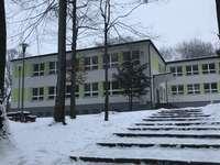 École en hiver