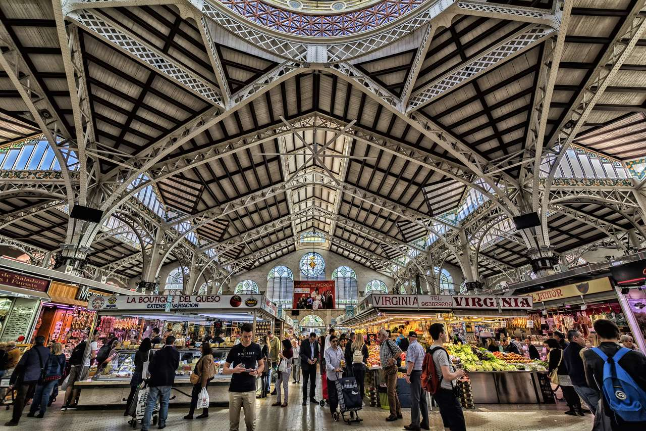 Mercado Central de Valencia rompecabezas