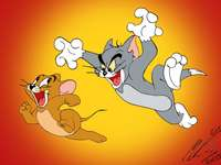 Tom och Jerry Puzzle
