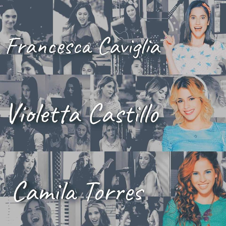 Violetta Francesca Camilla rompecabezas