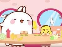 Večeře - Piu - Piu i Molnga