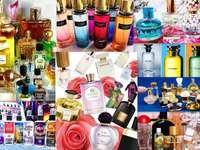 Perfume-collage