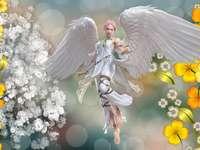 компютърна графика - ангел