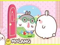 Molang egy barátjával nyaralni és Piu - Piu