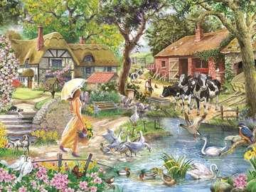 Пролет в селото