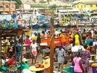 Elmina Fischmarkt - GHANA