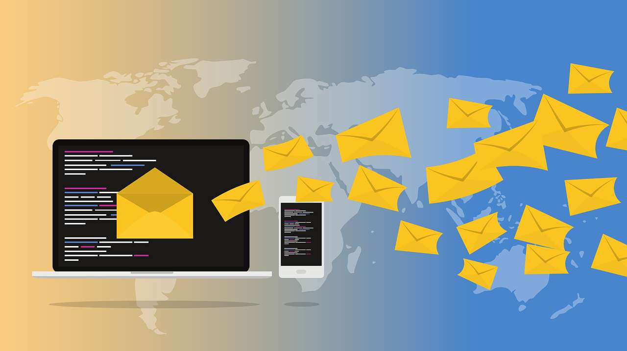 Skicka e-post pussel