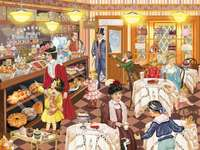 victorian pastry shop