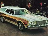 1976 Ford Gran Torino Squire Wagon