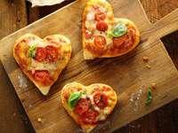 mini pizze- serca