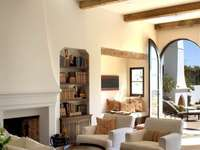 Салон в средиземноморски стил