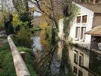 Tvätta huset i Frankrike