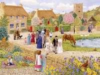 Mariage au village