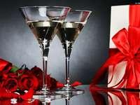 празнуване с шампанско