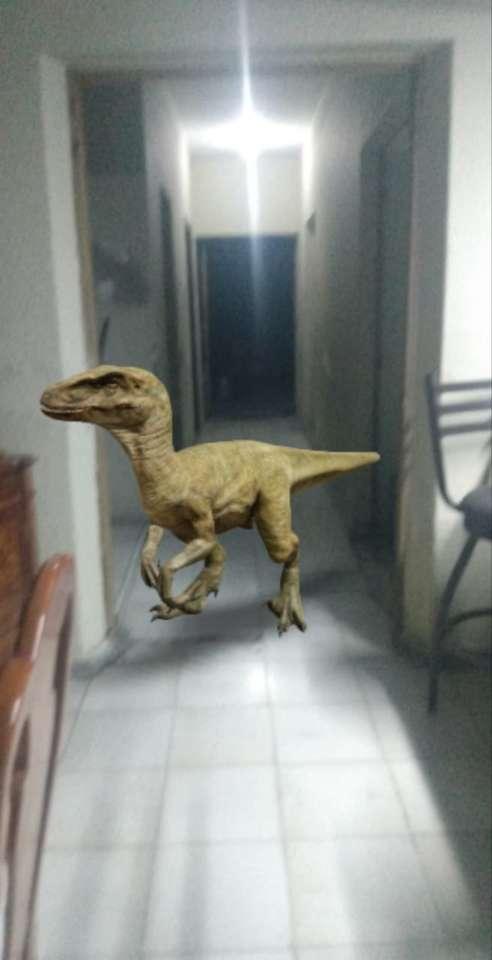 Dinosaurussen om aan te vallen