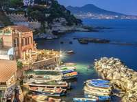 Marechiaro Posillipo Neapel Italien