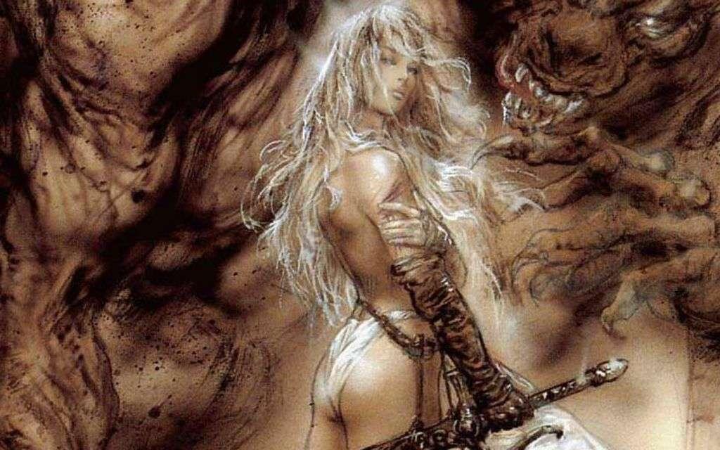 Warrior Beauty - Nespadejte do pekla (20×13)