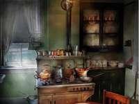 jak dříve vypadala kuchyně