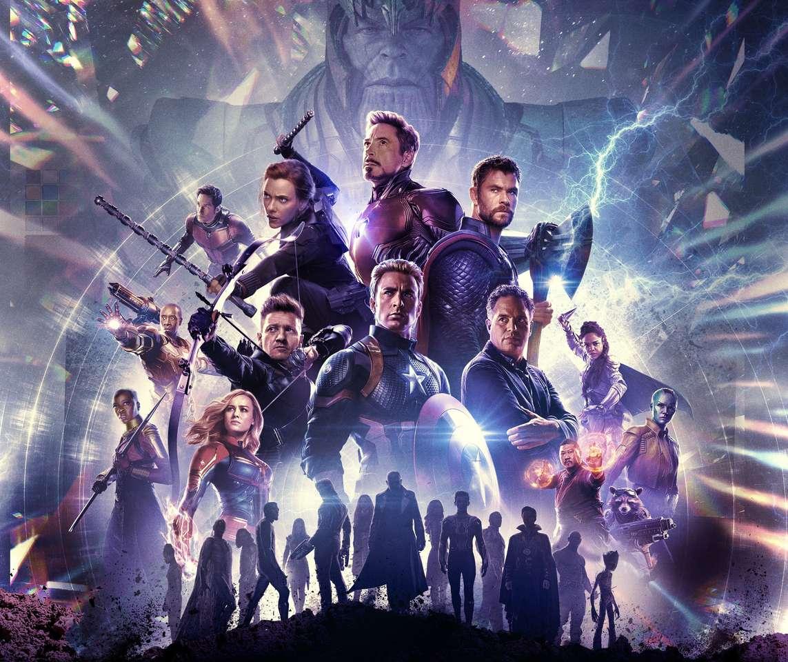 Marvel отмъстители - Персонажи от крайната игра на Marvel Avengers (20×17)