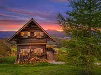 σπίτι στις Άλπεις
