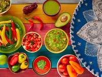 Mexické omáčky
