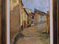 снимка на алея